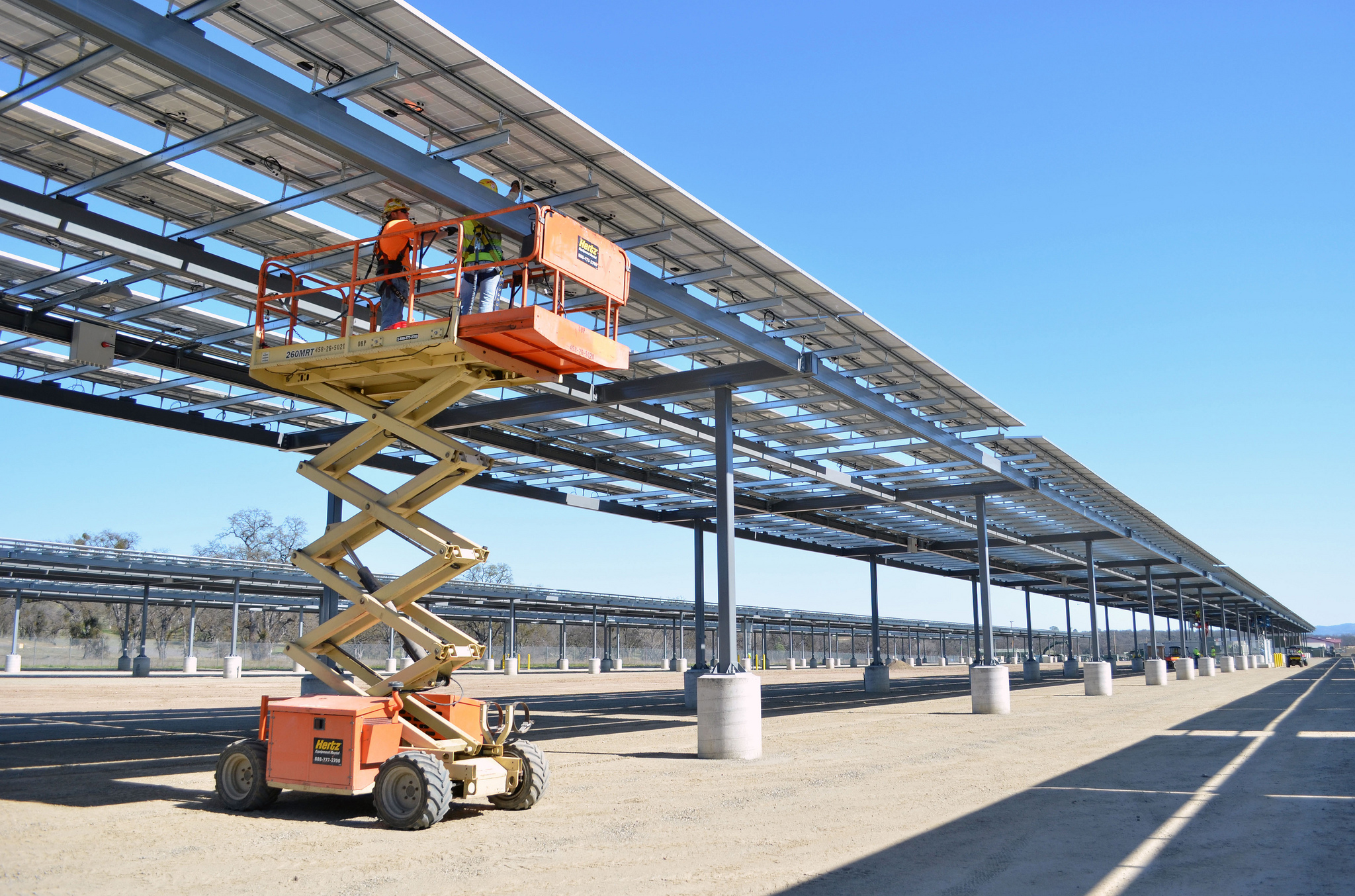 A Solar Canopy that aims to spread rooftop solar in urban areas ...