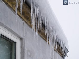 Prevent ice dams with a structural inspection.