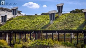 Consider living roofs to help the environment.