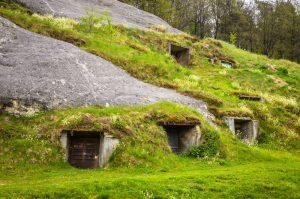 Custom underground homes