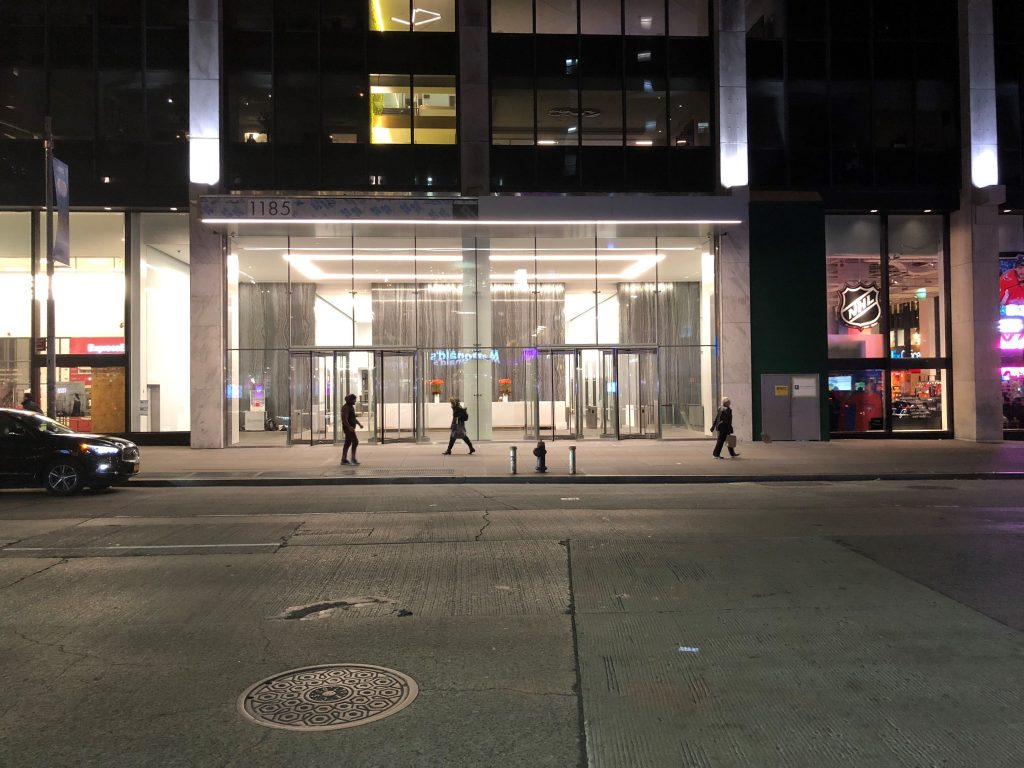 Ny NY Structural glass